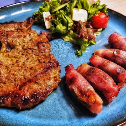 Bacon Dates - main dish