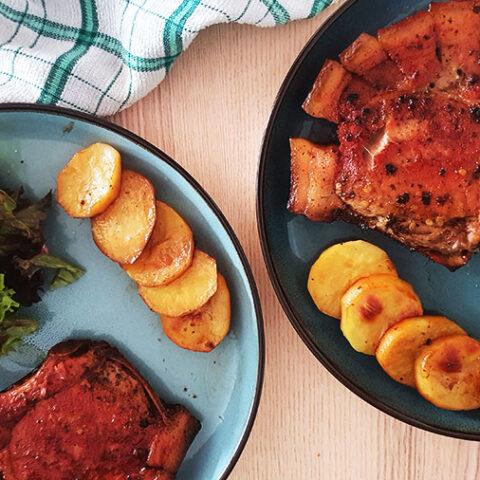 Honey Glazed Pork Chops Oven Baked